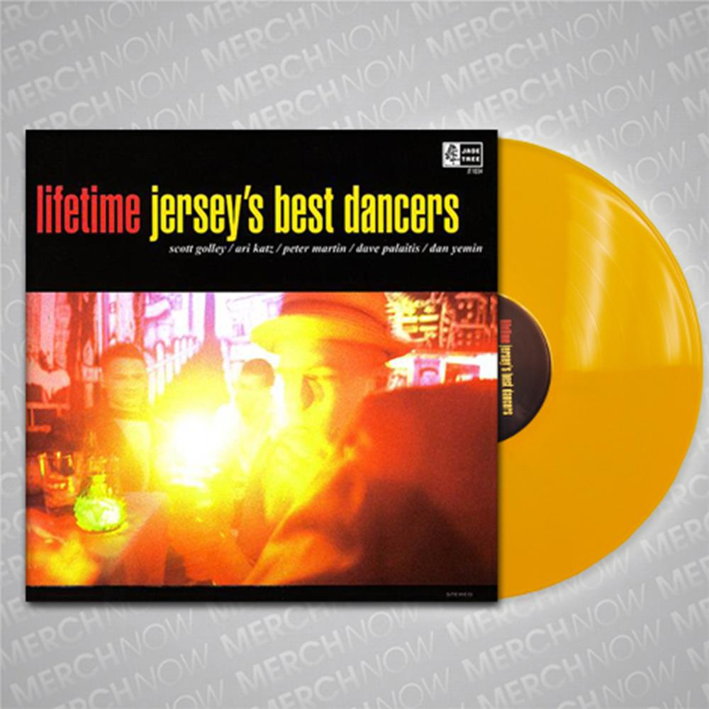 Jersey's Best Dancers Yellow LP Vinyl