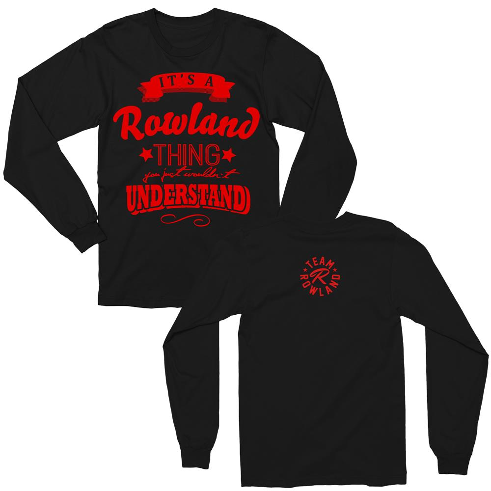Team Rowland Tour Merch