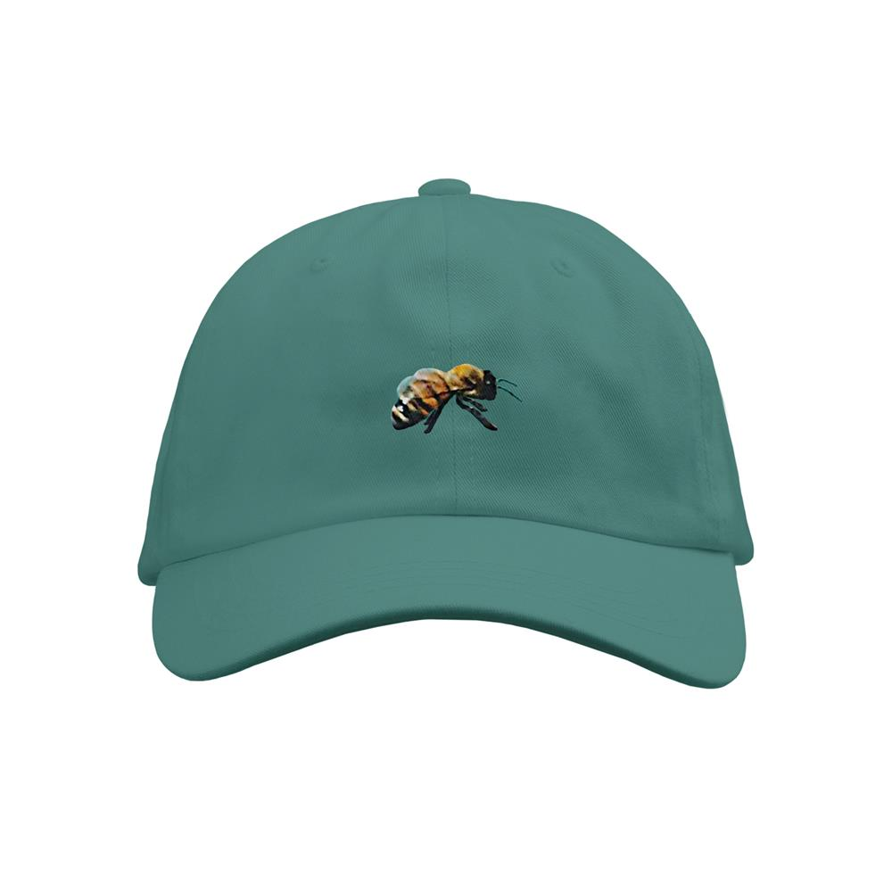 Embroidered Bee Dad Hat