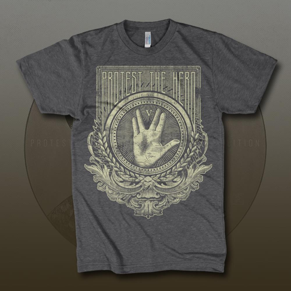 Trek Hand Dark Heather Grey T-Shirt