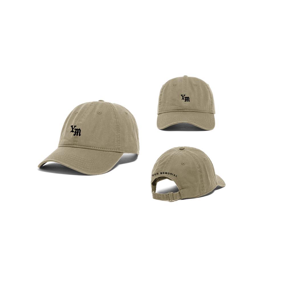 YM Logo Khaki Dad Hat
