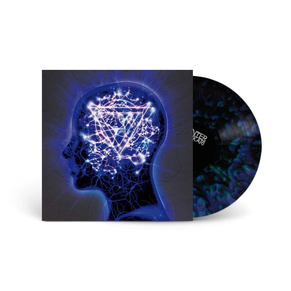 The Mindsweep Trans Blue/Black W/Splatter LP