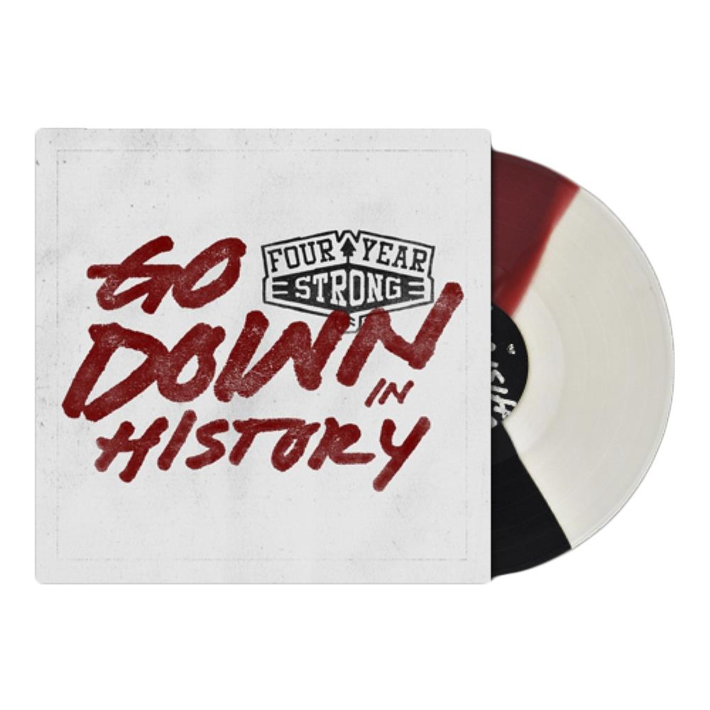 Go Down In History Clear/ Oxblood/ Black Tri-Color LP