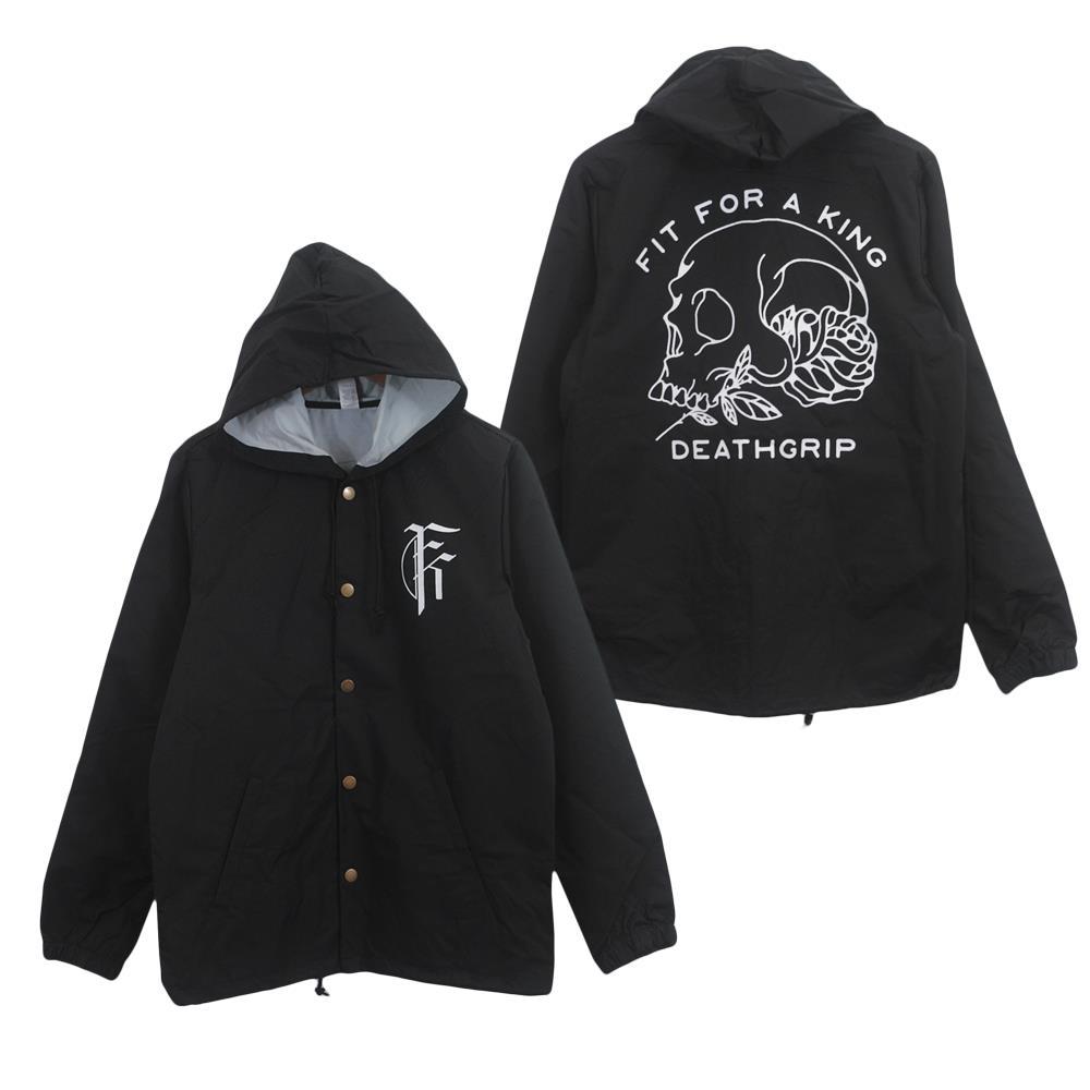 Deathgrip Skull Black