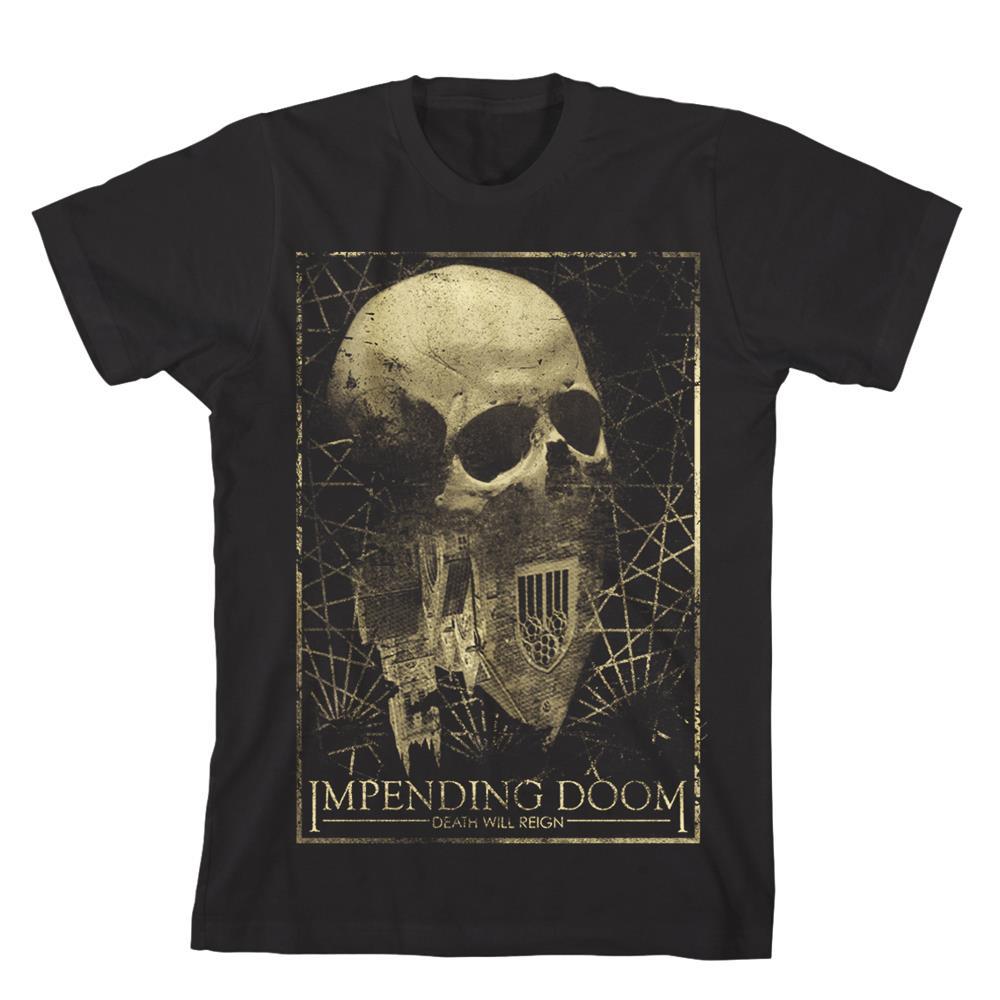 Death Will Reign Skull Black