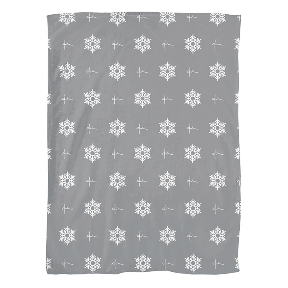 Duh / Snow Flake Grey Blanket