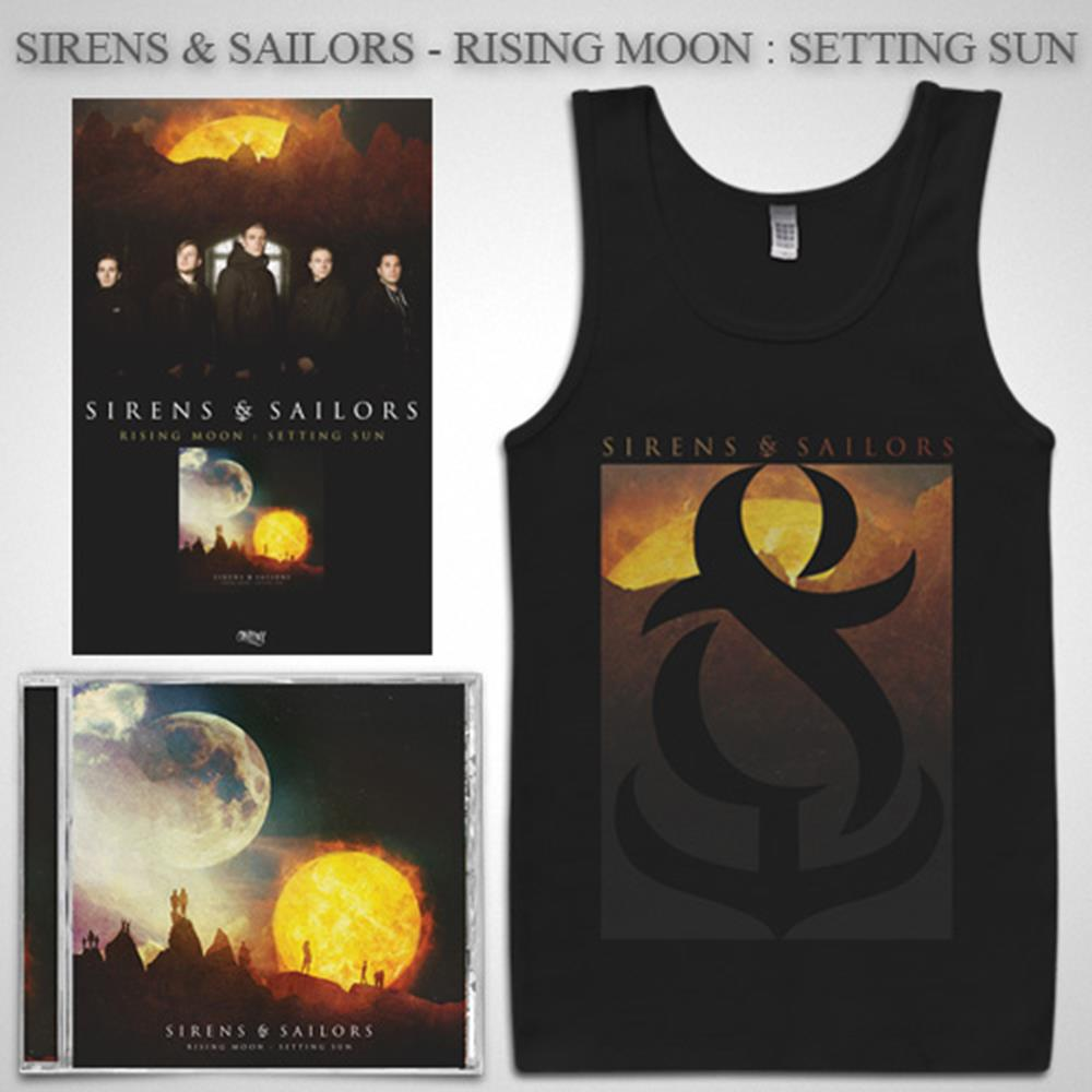 Rising Moon: Setting Sun CD + Tank Top + Poster + Digital Download