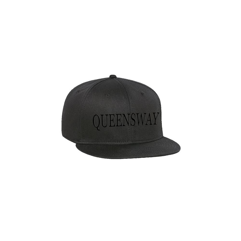 Black Logo Black Snapback
