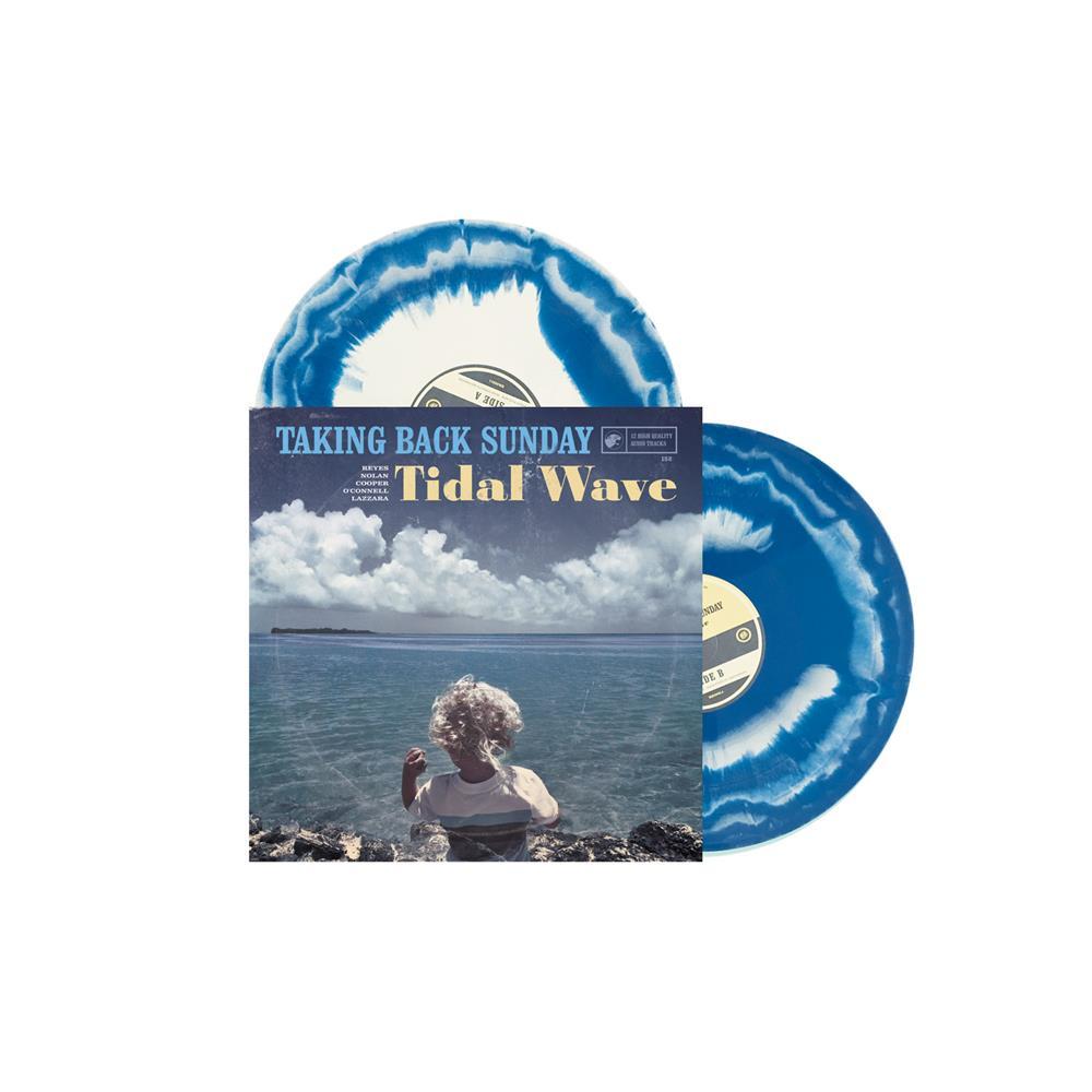 Tidal Wave (Turquoise Swirl) Aside Coke Bottle/Bside Turquoise Vinyl 2Xlp