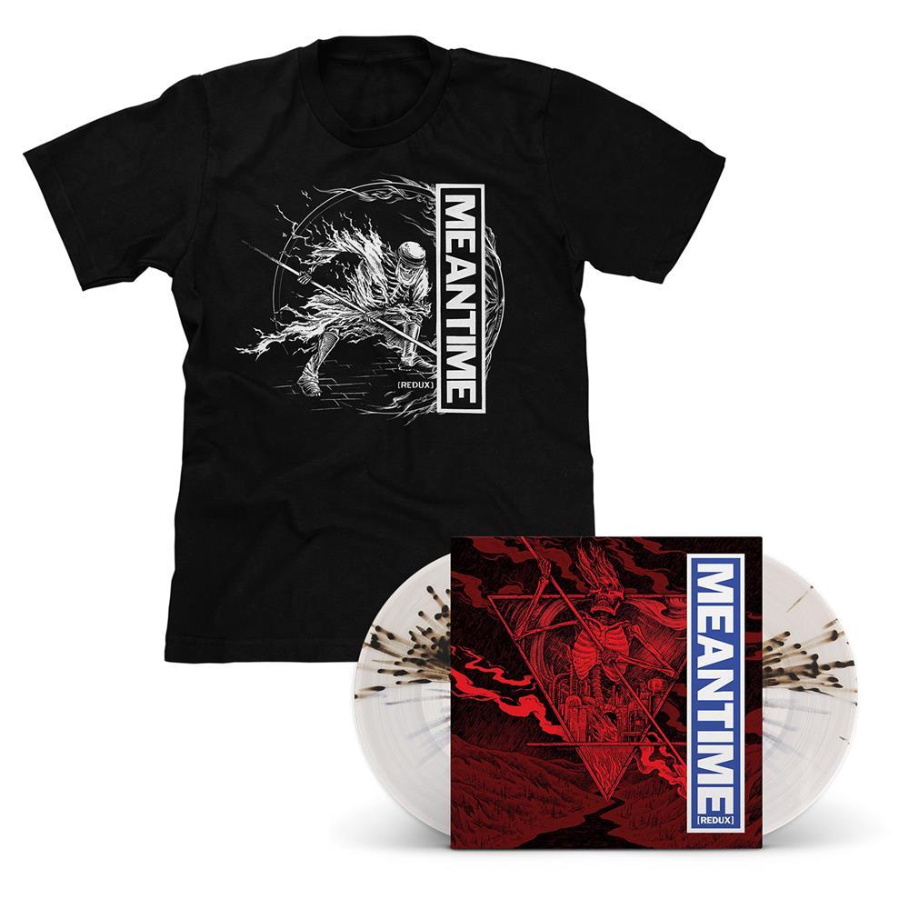 Meantime [REDUX] Half & Half LP & T-Shirt - Various Artists