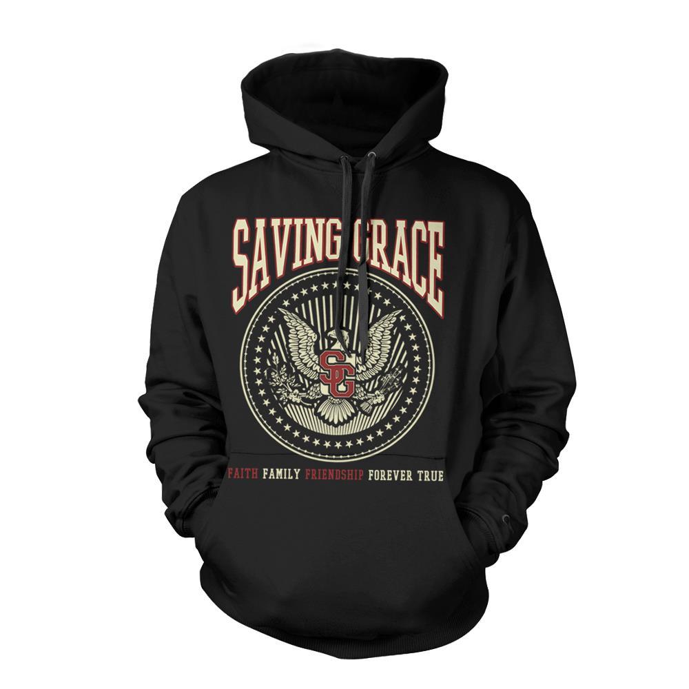 Eagle Crest Black Hooded *Sale! Final Print*