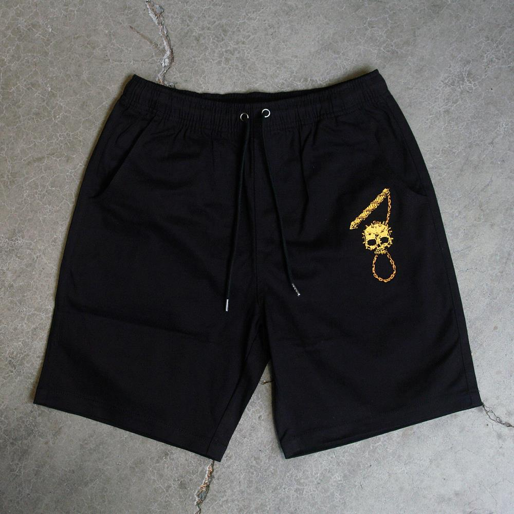 Dungeon Embroidered Black