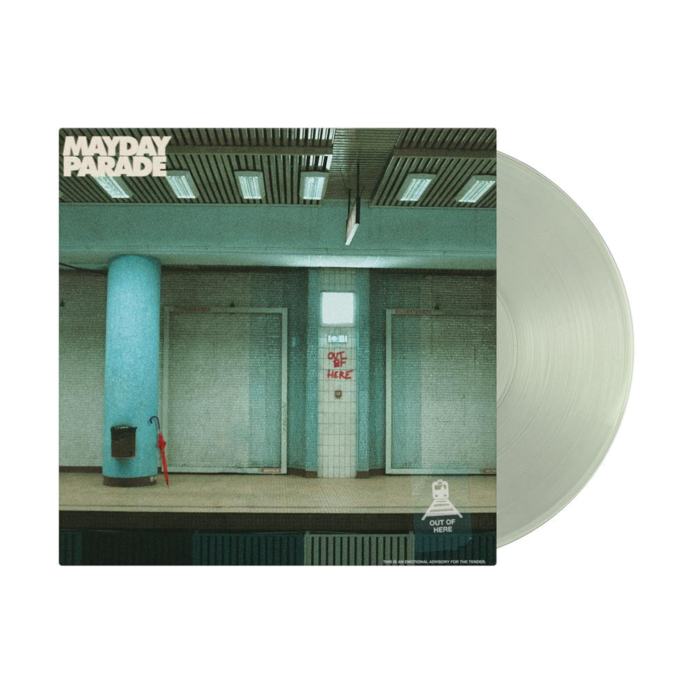 Out Of Here EP Alternate Cover Coke Bottle Clear Vinyl