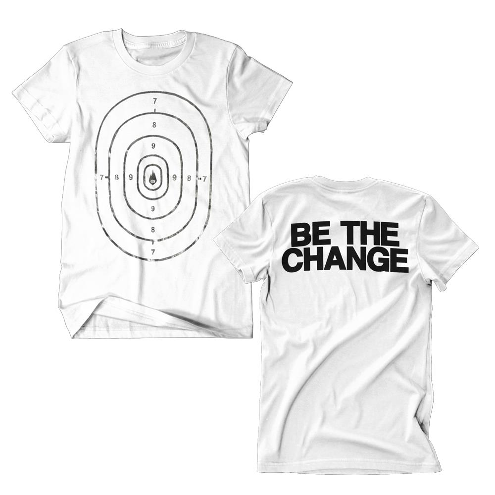 Be The Change Foil White