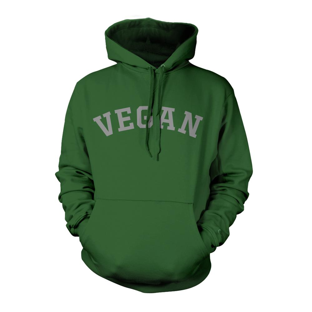 Vegan Green Hooded