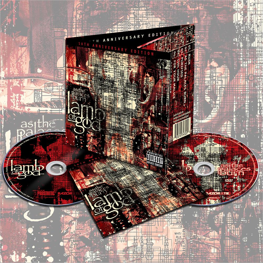 As The Palaces Burn 10th Anniversary Edition : RZRT ...