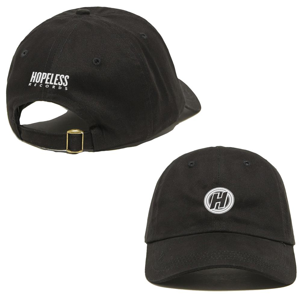 H Logo Black Dad Hat