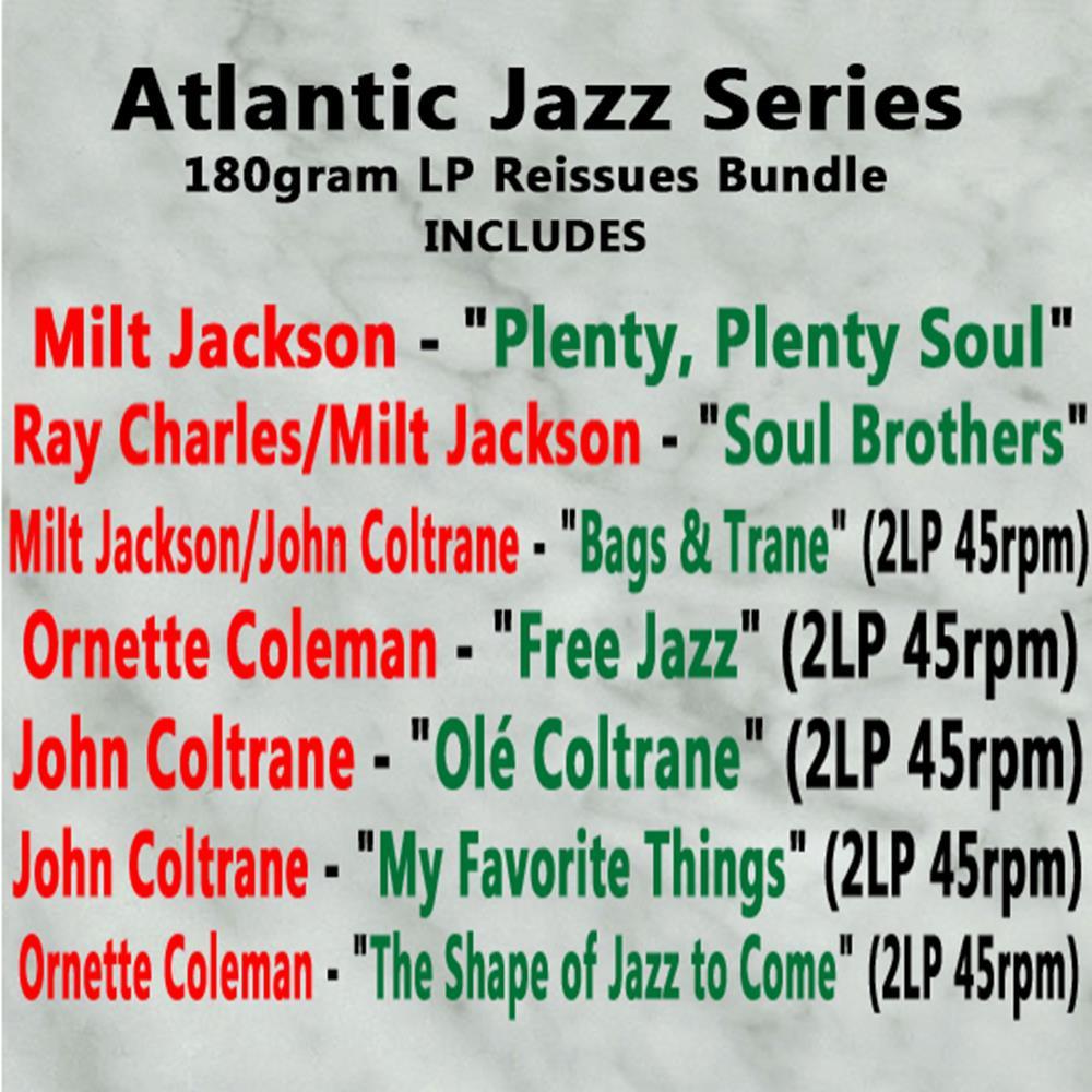Atlantic Jazz Series 180gram LP Reissues Bundle
