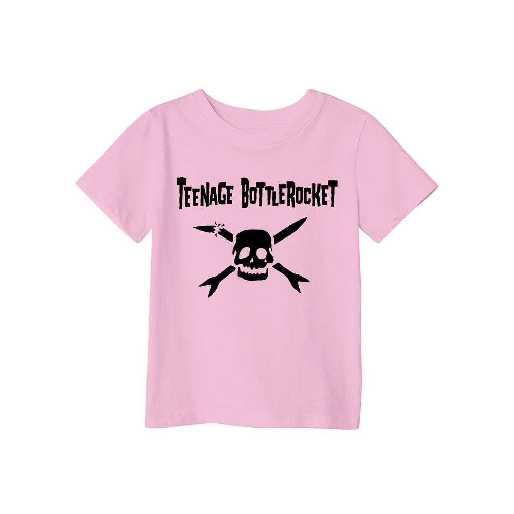 Teenage Bottle Rocket Broken Logo Pink