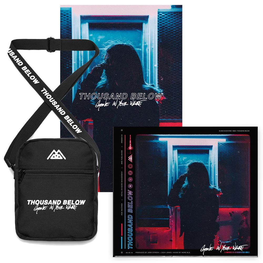 Gone In Your Wake Shoulder Bag + CD