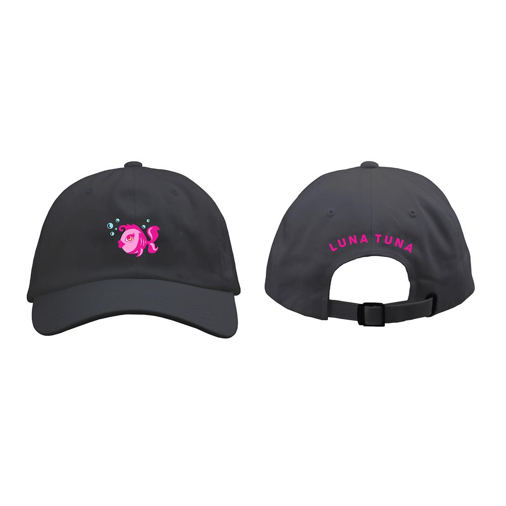Luna Tuna Black Dad Hat