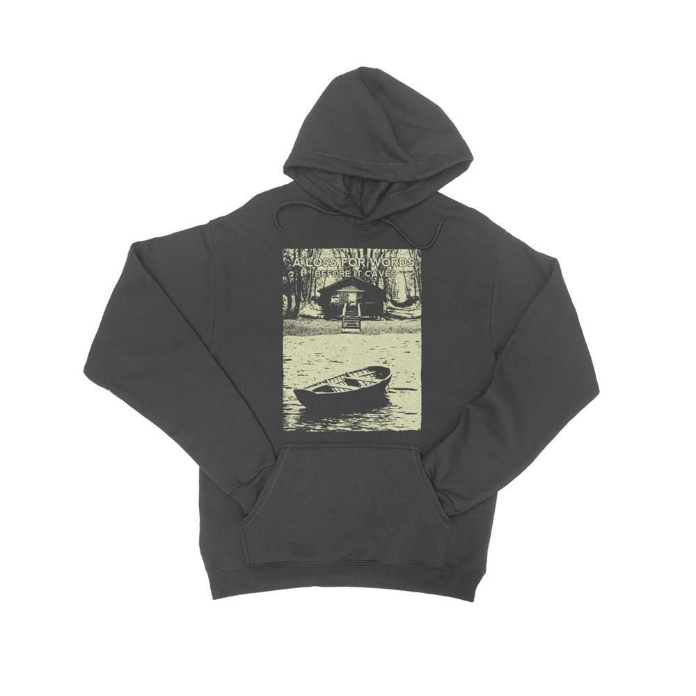 Lake Charcoal Hooded Sweatshirt