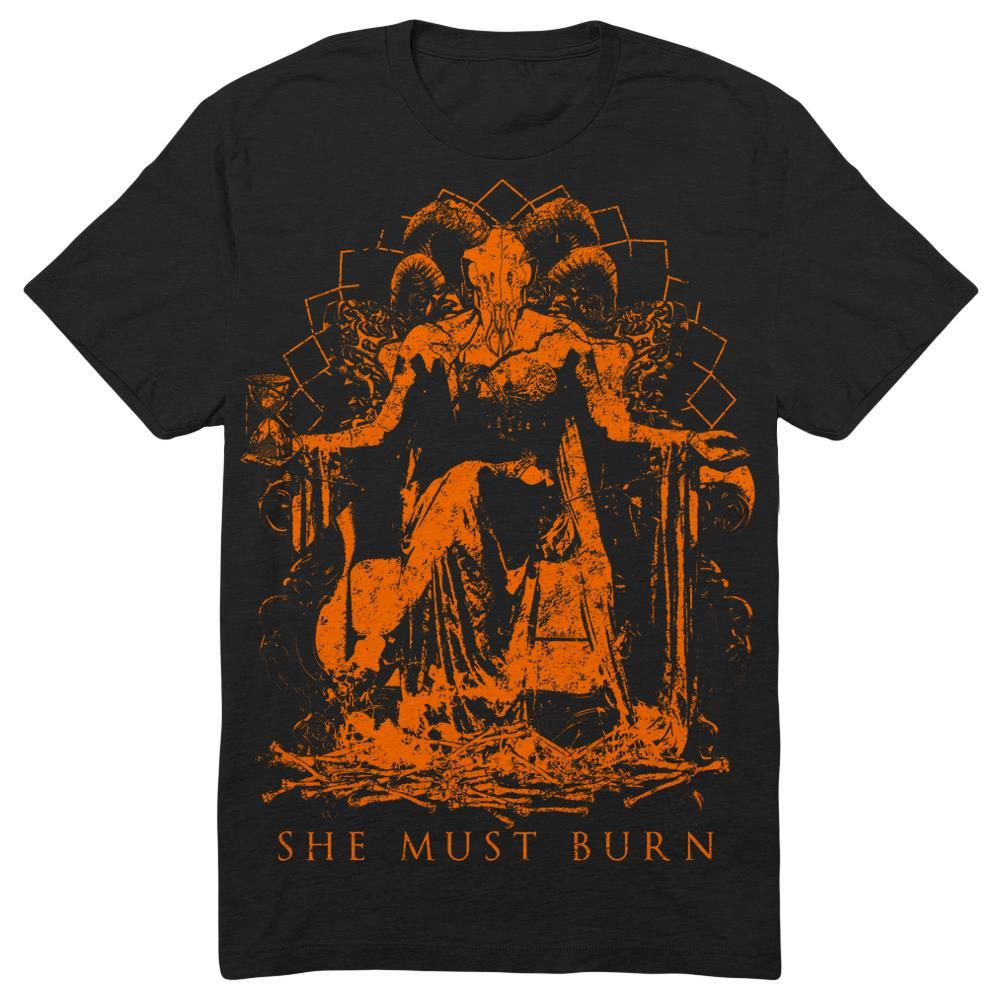 She Must Burn - Goat Halloween Black