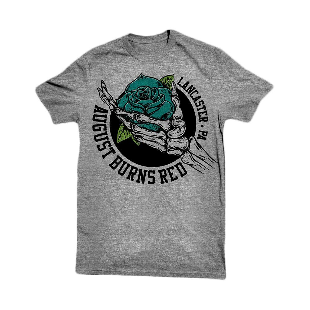 Skeleton Rose Heather Grey