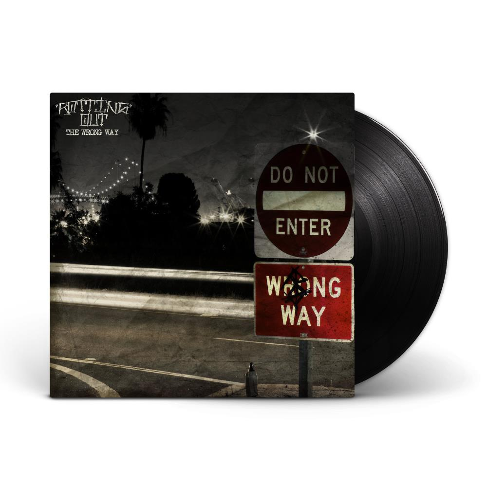 The Wrong Way Black LP