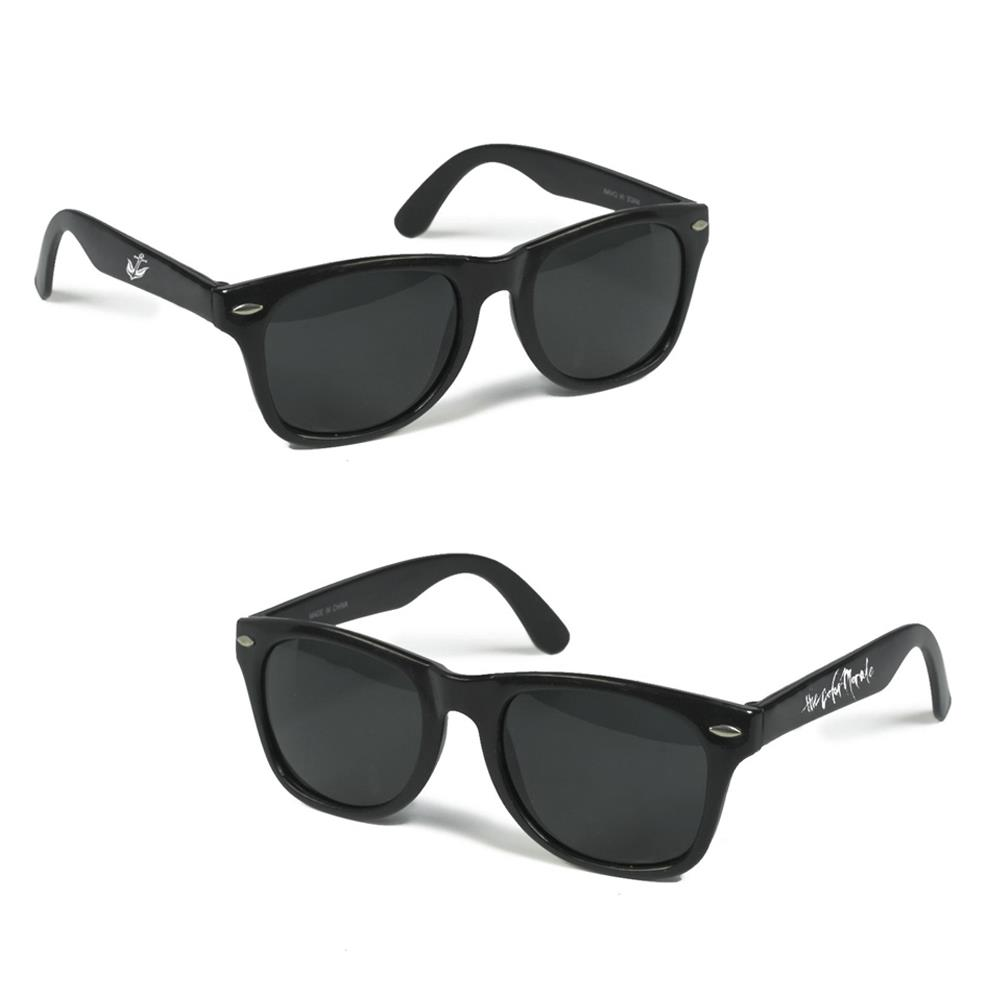 Logo Black Sunglasses