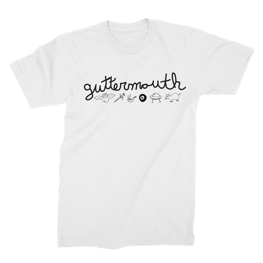 Guttermouth Symbols White