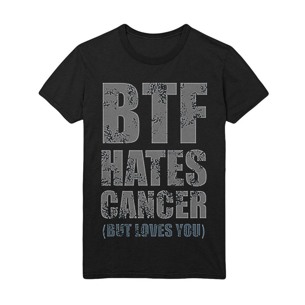 Hates Cancer Black