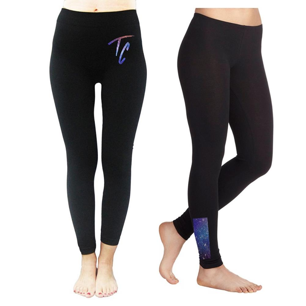 TC Galaxy Black Leggings