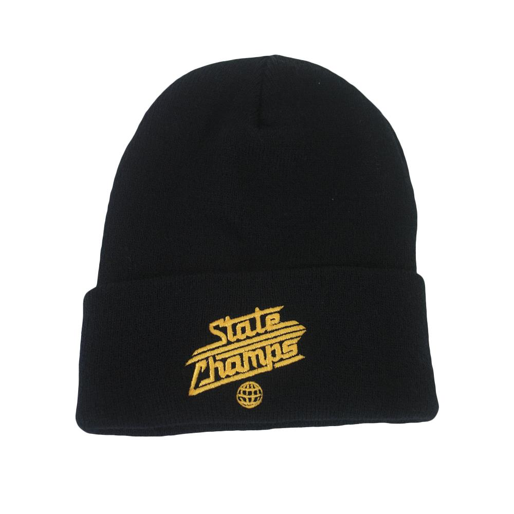 Gold Logo Black Winter