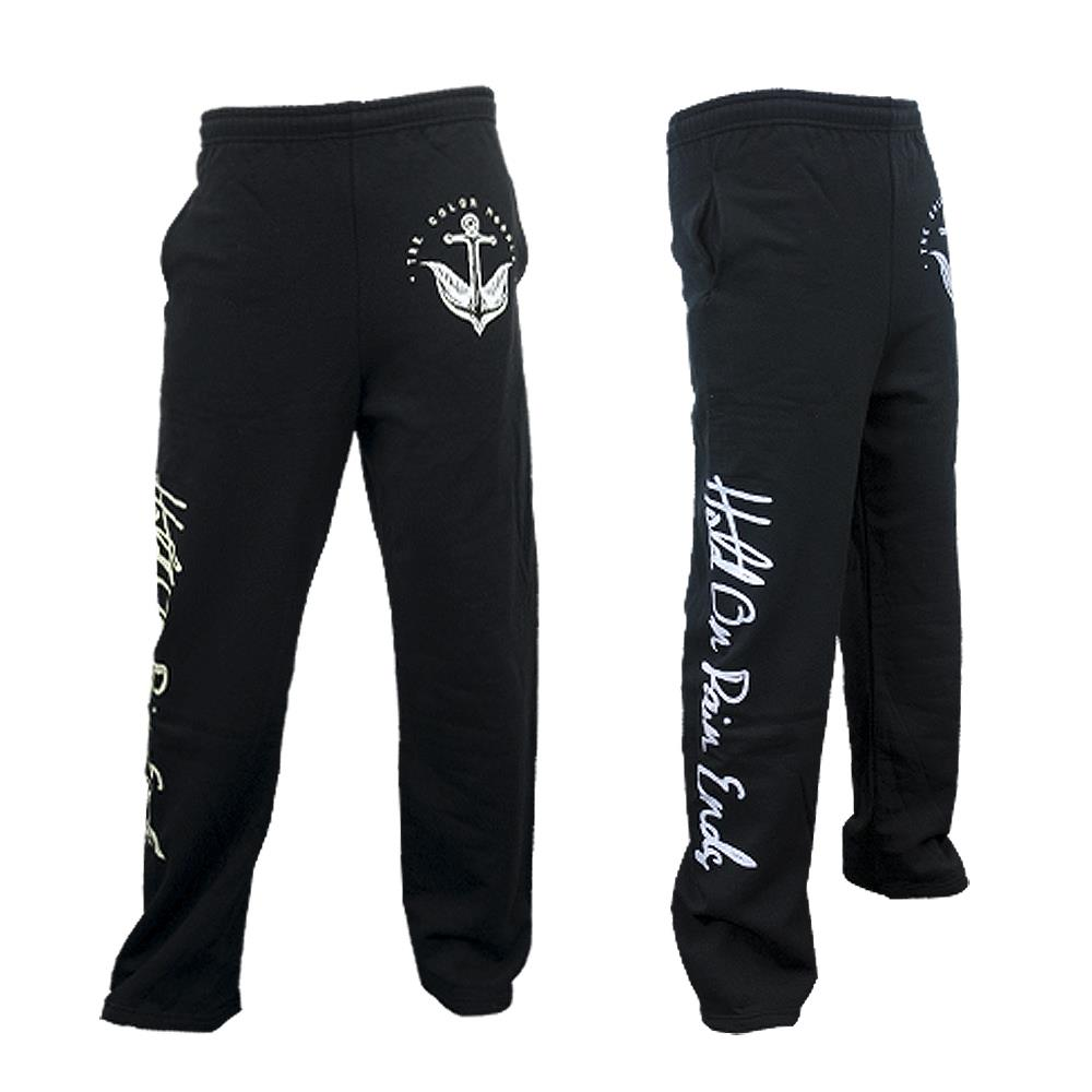 Hold On Pain Ends Black Sweatpants