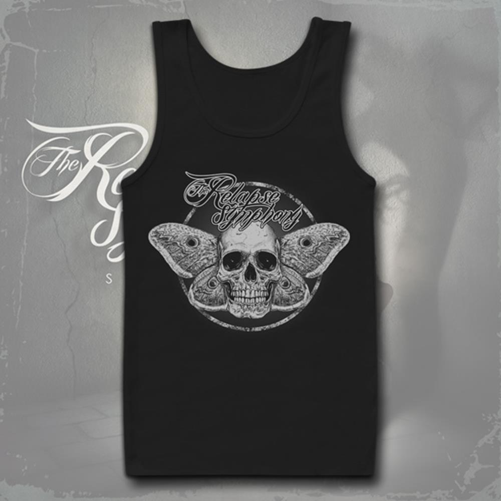 Death Moth Black Tank Top