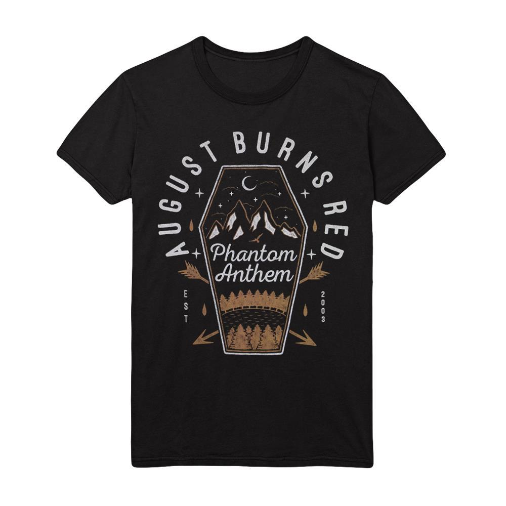 Phantom Coffin Black T-Shirt