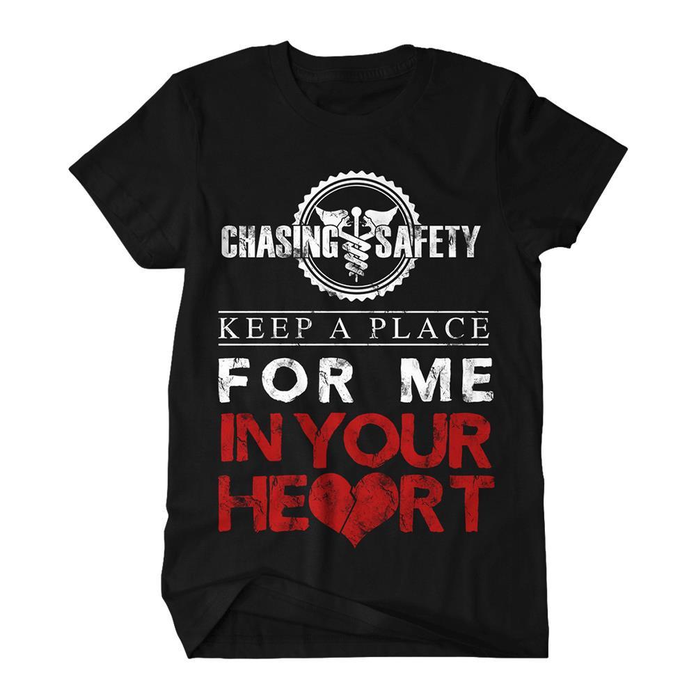 Keep A Place Black T-Shirt
