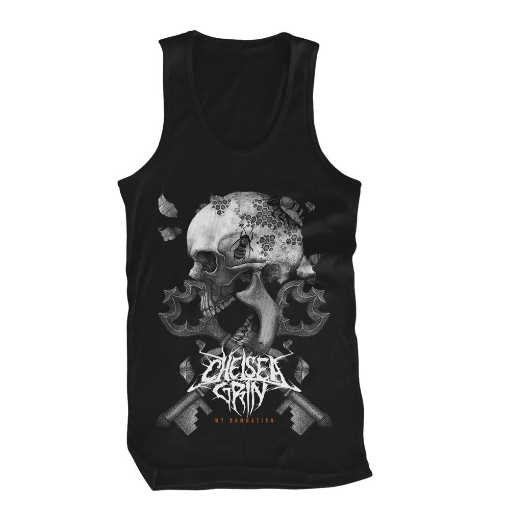 *Last One* Keys Black Tank Top
