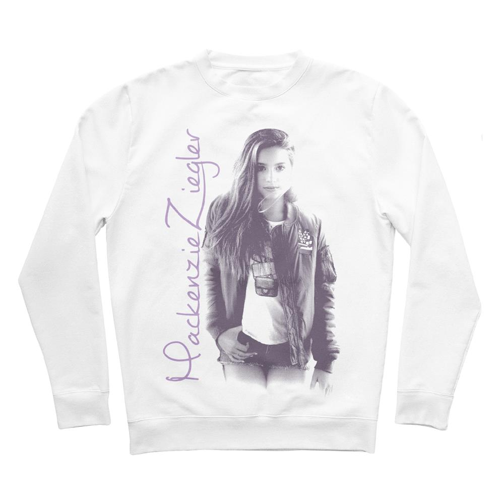 Photo White Crewneck Sweatshirt