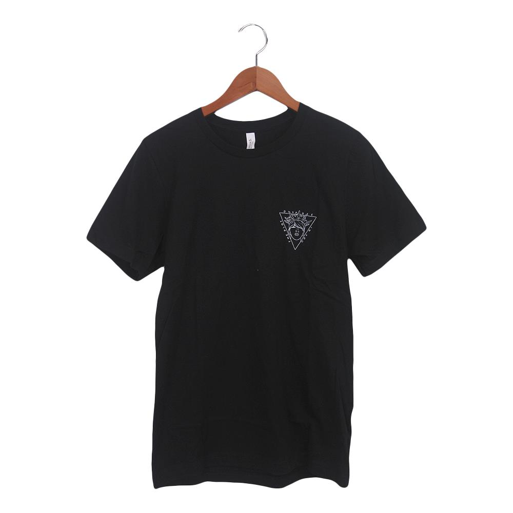 Crown Pocket Logo Black