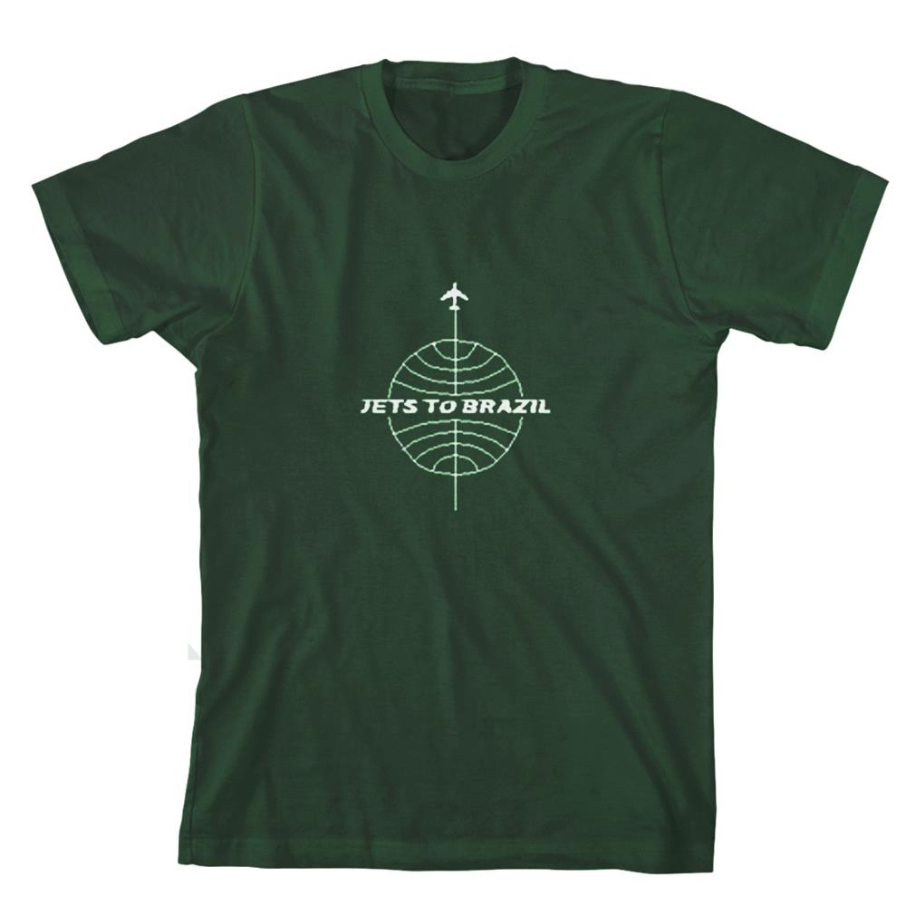 Globe Logo Forest Green