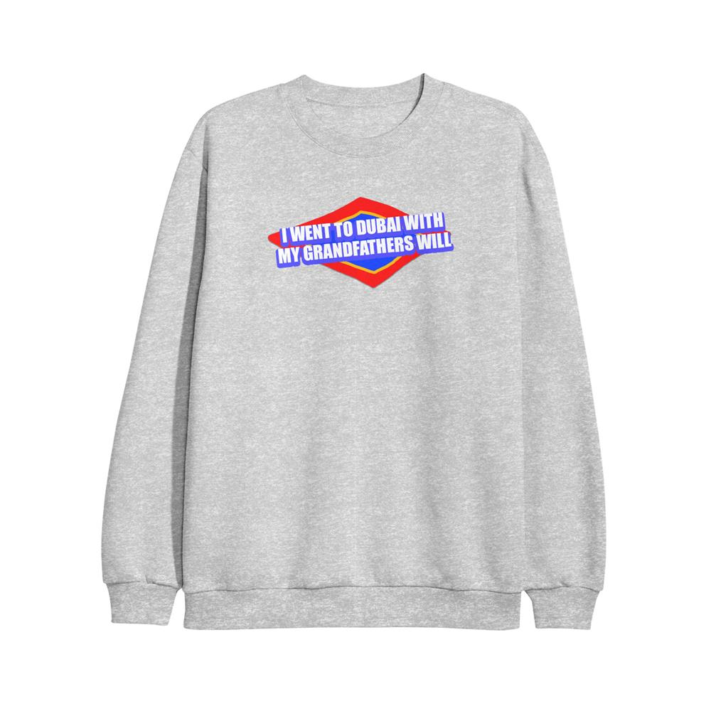 Dubai Grey Crewneck