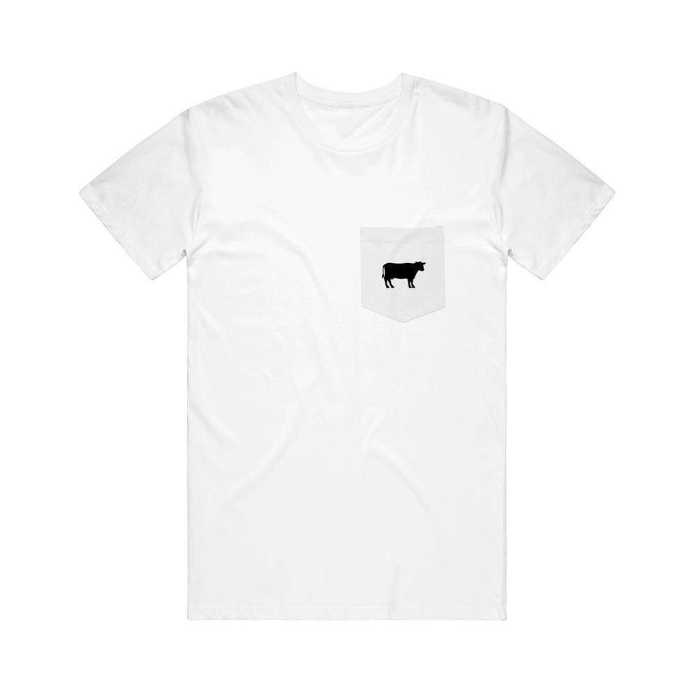 Cow White Pocket