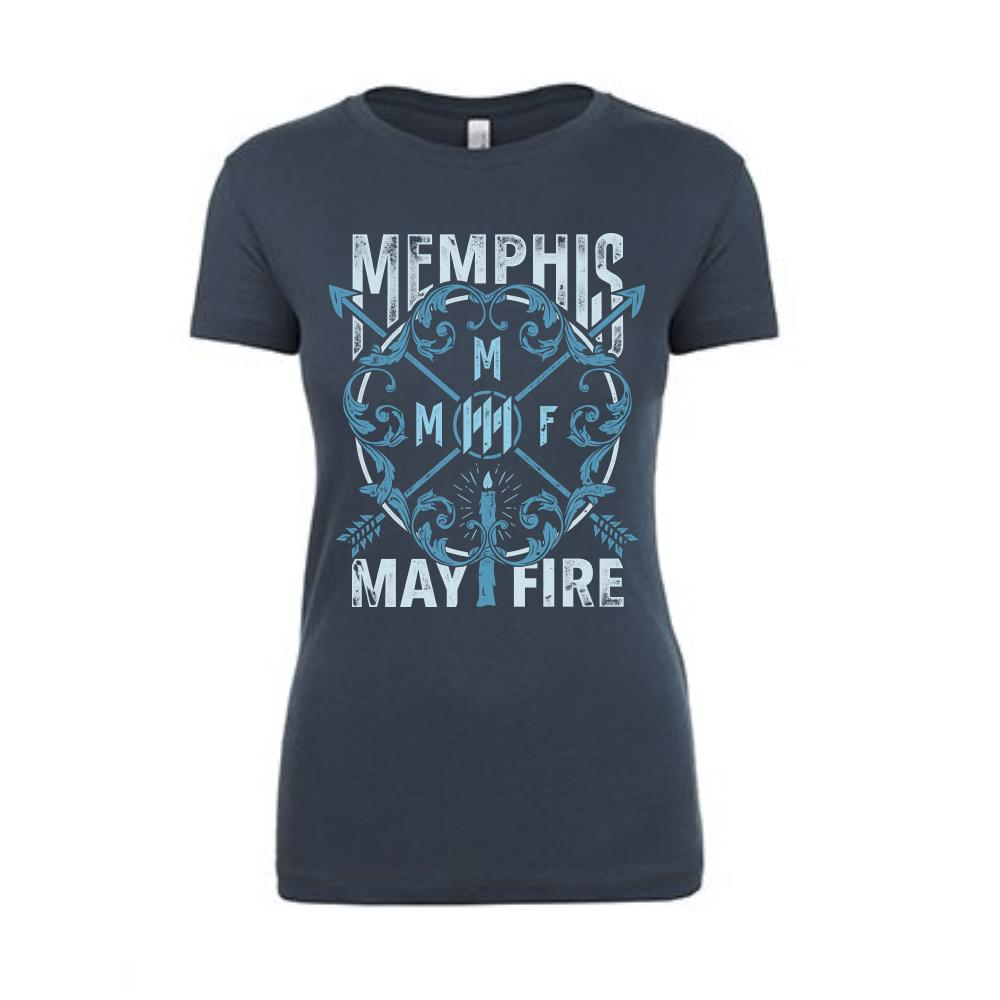 Candle Blue Girl's T-Shirt