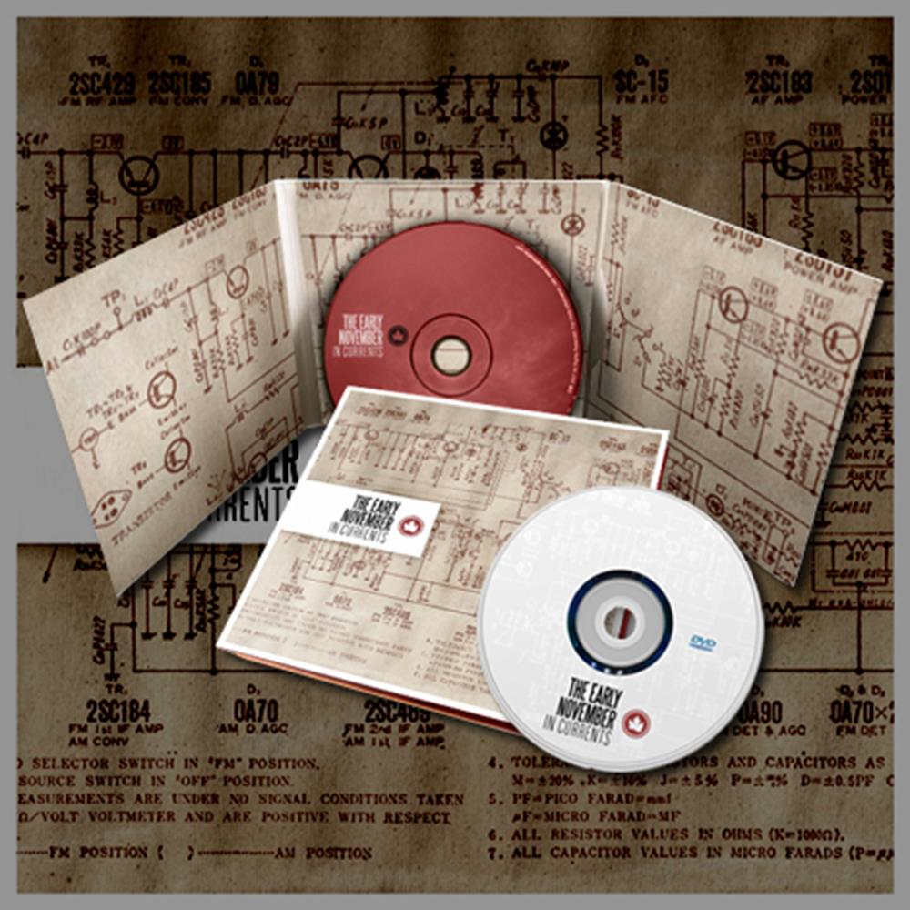 In Currents DELUXE CD/DVD