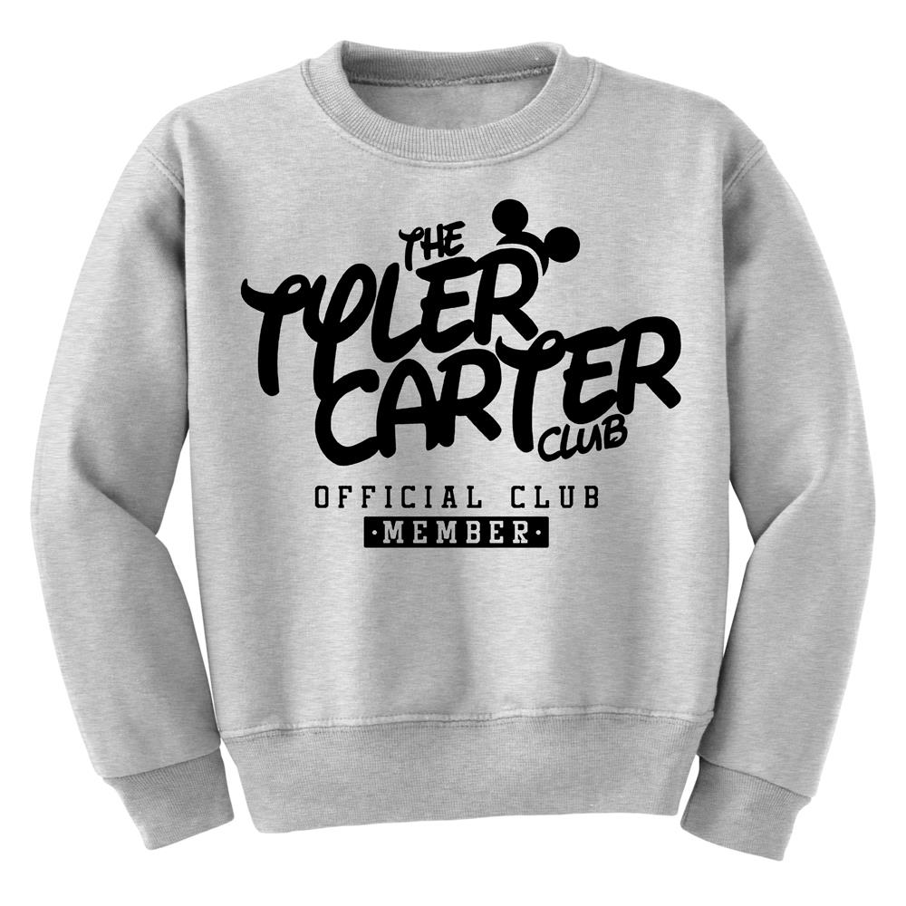 CLUB Heather Grey Crewneck Sweatshirt