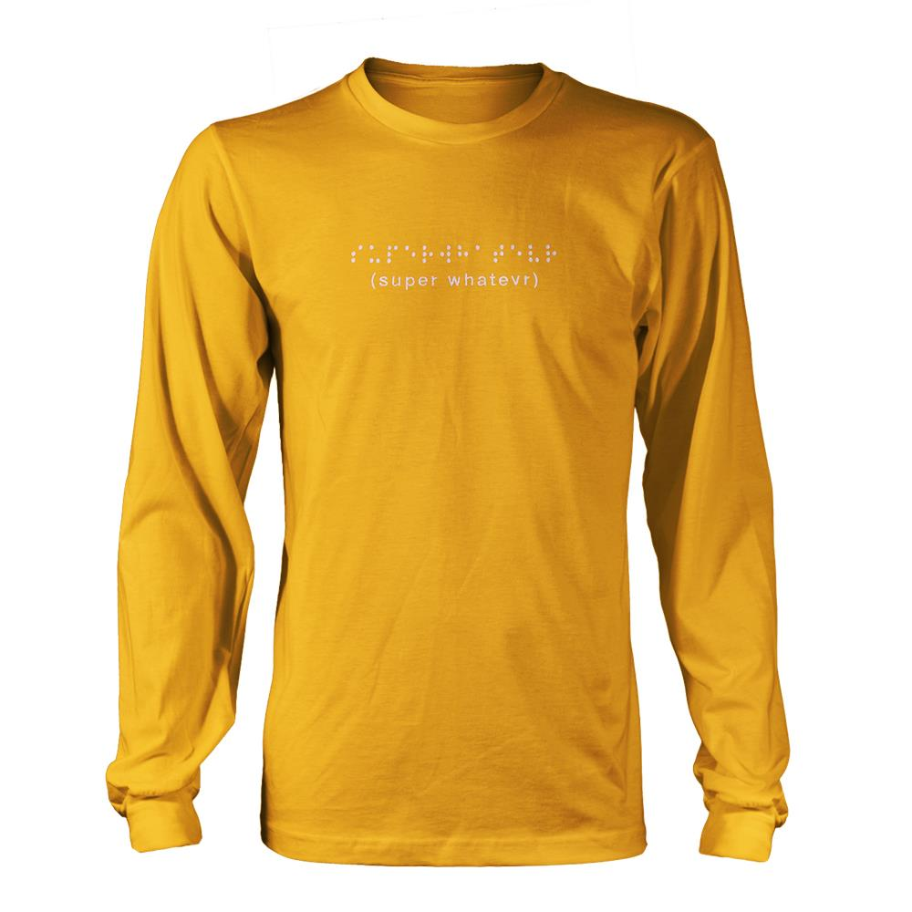 Braille (Embroidered) Yellow