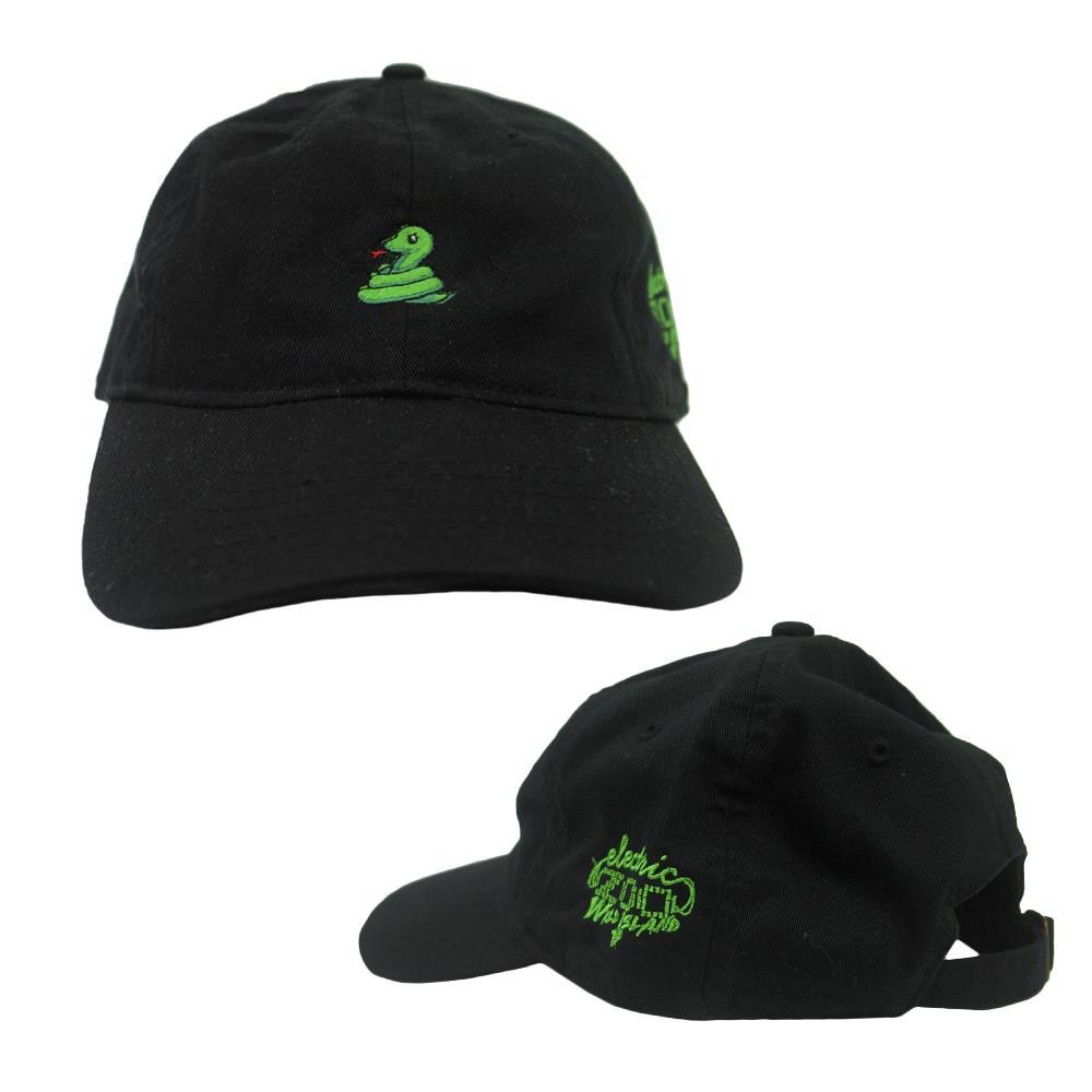 Snake Black Dad Hat