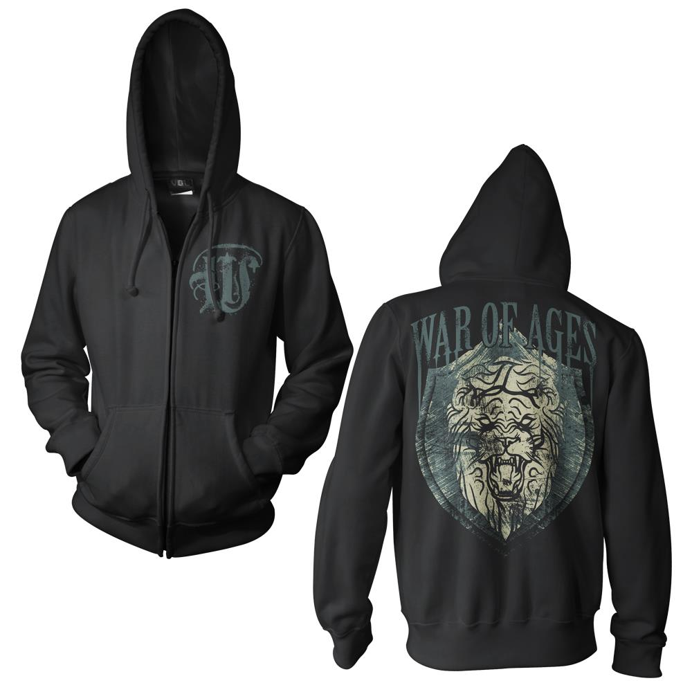 Lion Shield Black